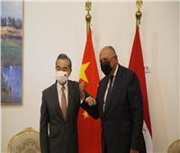 وزير الخارجية ونظيره الصيني يوقعان اتفاقا لإنشاء لجنة التعاون الحكومية المشتركة | صور
