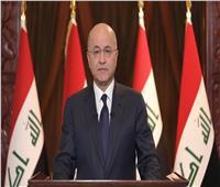 الرئيس العراقي يؤكد أهمية دعم إجراءات ضمان استقلالية ونزاهة الانتخابات التشريعية المقبلة