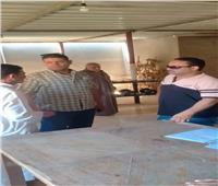 بدء تسليم مواقع مراكز الشباب بقري مركز أشمون| صور