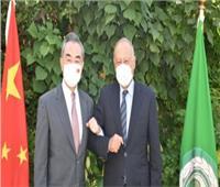 أبو الغيط يلتقي وزير الخارجية الصيني في العلمين