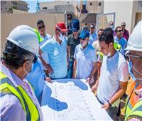 مستشاررئيس الجمهورية يتفقد مشروعات «تحيا مصر» بقرية سيدي عبد الرحمن  صور