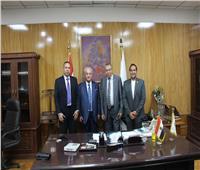«ضاحي» يستقبل نقيب مهندسي طرابلس وشمال لبنان