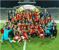 شاهد  كواليس احتفال لاعبي الأهلي بكأس إفريقيا «فيديو»