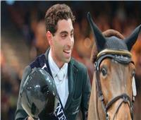 عبد القادر سعيد يتوج بذهبية الجائزة الكبرى في الفروسية