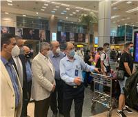 نائب وزير الطيران يتفقد مطار القاهرة لمتابعة الاستعدادات لعيد الأضحى| صور