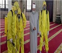 الأوقاف تواصل حمله تعقيم المساجد استعدادا لصلاة عيد الأضحى المبارك