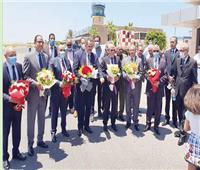 مطار بورسعيد.. يستقبل أول رحلة طيران داخلية