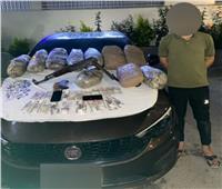 إحباط محاولة تاجر مخدرات ترويج 30 كيلو بانجو بدمياط