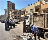 تكثيف حملات النظافة بمدن الشرقية احتفالا بعيد الاضحى المبارك
