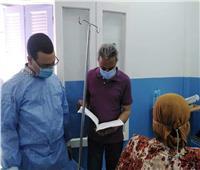 توافر الخدمات الطبية بمستشفيات قنا.. وإحالة المتغيبين للتحقيق