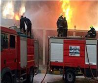 إصابة ٦ أشخاص فى حريقهائل بقرية بالشرقية