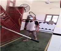 استعدادًا لصلاة عيد الأضحى.. تعقيم وتطهير مساجد البحيرة