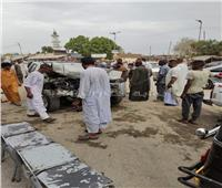 إصابةالشيخ الإدريسي و5 آخرين في حادث سير بأسوان  صور
