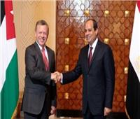 الرئيس السيسي يهنئ ملك الأردن بعيد الأضحى