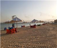 افتتاح شاطئ السوايسة بطول 700 متر بالكورنيش الجديد
