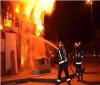 إصابة 6 أشخاص في حريق هائل بالشرقية