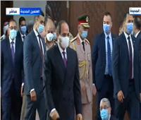 الرئيس السيسي يؤدي صلاة عيد الأضحى من العلمين الجديدة