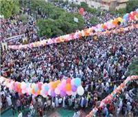 أهالي الجيزة يؤدون صلاة العيد  وسط إجراءات احترازية مشددة