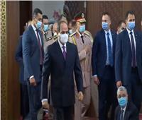 الرئيس السيسي يصل إلى العلمين لتأدية صلاة عيد الأضحى| فيديو