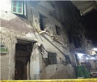 سقوط أجزاء من عقار بالعطارين في الإسكندرية دون إصابات