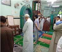 أهالي بني سويف يؤدون صلاة العيد وسط إجراءات وقائية ضد كورونا