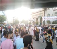 الآلاف يؤدون صلاة عيد الأضحى بمسجد ناصر وساحته في أسيوط