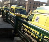 أسطول من سيارات الإسعاف جاهز للتعامل مع الحالات الطارئة| صور