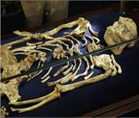 عمره 35 ألف سنة.. هيكل عظمي أبهر العالم بمتحف الحضارة| فيديو