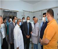 محافظ الشرقية يهنئ الأطقم الطبية والمرضى بعيد الأضحى المبارك