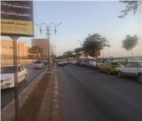إقبال أهالي المنيا على كورنيش النيل للاحتفال بعيد الأضحى