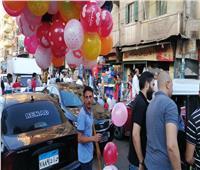 أهالي الغربية يحتفلون بالعيد على النيل هربا من حرارة الجو | صور