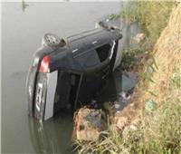 إصابة 3 شباب في إنقلاب سيارة ملاكي في ترعة الإبراهيمية في بني سويف