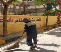 حملات العيد  «نظافة بولاق» يطهر الشوارع والميادين من القمامة