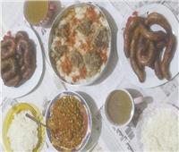 أكلات الأضحى  الدمايطة يبدأون الإفطار بـ«حلويات الأضحية»