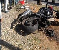 مصرع شاب في حادث انقلاب دراجة بخارية في بني سويف