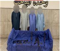 سقوط 4 عناصر إجرامية بأسلحة نارية في حملة أمنية بأسيوط