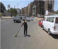 الجيزة: رفع ١٢ألف طن مخلفات من الشوارعفي أول أيام عيد الأضحى المبارك