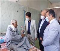 «الجيزاوي» يتفقد مستشفى بنها الجامعي ويشيد بجهود الأطقم الطبية