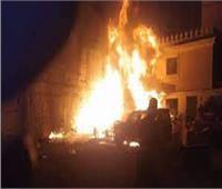 السيطرة على حريق بأحد مكاتب الإسماعيلية