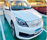 3 شهور أشغال شاقة لـ«E70» الكهربائية.. سيارة «النصر» في شوارع مصر