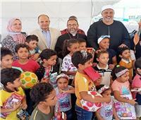 حفل لأطفال دور الرعاية بنادي الملاحة بالإسماعيلية