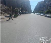 اعرف السبب .. نرصد خلو شوارع طنطا من المارة والمحتفلين بالعيد