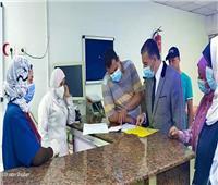 مدير إدارة المستشفيات يتفقد مستشفى مطروح العام