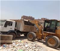 رفع 395 طن قمامة ومخلفات من أوسيم بالجيزة