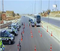 الإدارة العامة للمرور تنشر خدماتها تزامنا مع احتفال عيد الأضحى | فيديو