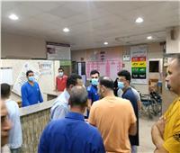 جولة لوكيل صحة المنوفية على مستشفى بركة السبع.. في ثاني أيام العيد| صور