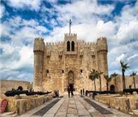 إقبال كثيف على قلعة «قايتباي» بالإسكندرية خلال عيد الأضحى