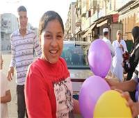 احتفالات وبالونات في شوارع وبيوت بورسعيد| صور