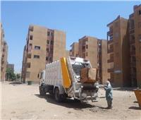 في ثاني أيام العيد.. رفع 120 طنًا من المخلفات بمركز جهينة في سوهاج