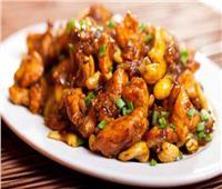 أسهل طريقة عمل «الدجاج بالكاجو»